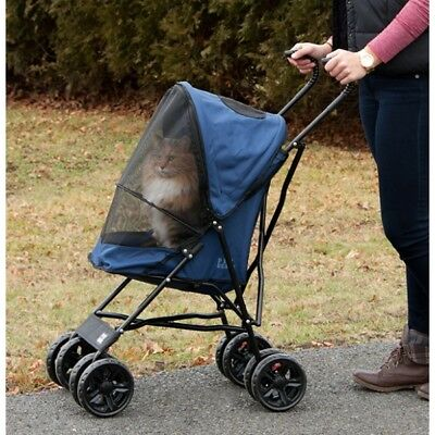 Rosewood Travel Lite Standard Pet Dog Cat Stroller Pram Buggy