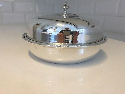 Vintage Antique Sheffield Silver Plated EPNS Muffin Dish English (EP14)