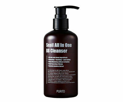 PURITO NEW Snail All In One BB Cleanser 250ml / Free Gift / K Beauty