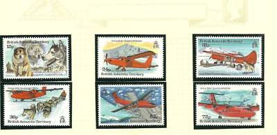 Bat Sg240-245 Forms Of Transportation Mnh