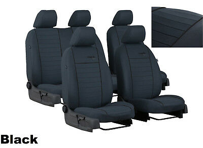 Tailored Fabric Seat Covers For Volkswagen T6 Combi 5 Seats 2016 Onwards