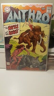 Anthro #1      (Fine)   ~Howie Post Artwork~     Dc    Jungle    1St Print 1968!