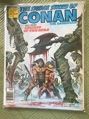 The Savage Sword of Conan The Barbarian  #39 April 1979  VERY FINE