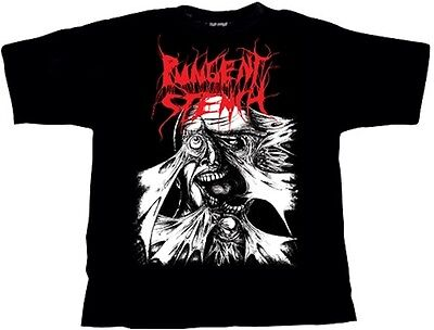 PUNGENT STENCH - Split LP Cover - T-SHIRT (Size S)