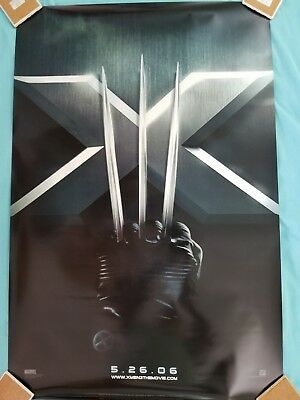 """""""Xmen 3 The Movie""""   Official Authentic Movie Poster  2006"""