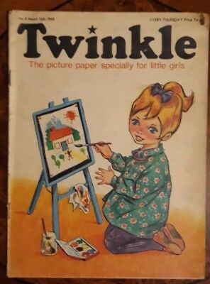 Twinkle Comic No.8 16Th March 1968 Rare Early Edition