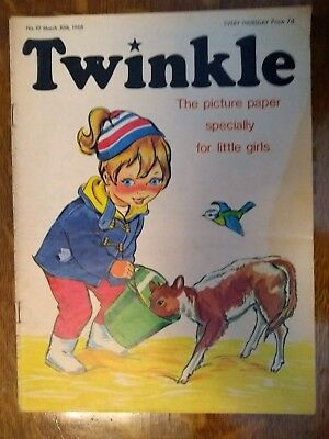 Twinkle Comic No.10 30Th March 1968 Rare Early Edition