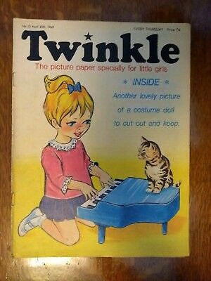 Twinkle Comic No.13 20Th April 1968 Rare Early Edition