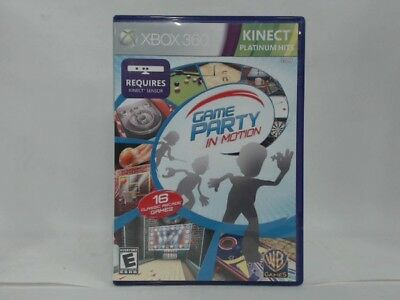 GAME PARTY: IN MOTION Xbox 360 Complete CIB w/ Box, Manual Good