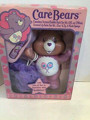 NOS Care Bears Bubble Bath Set New OLD STOCK Condition Share Bear