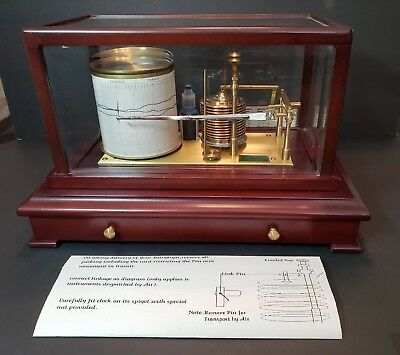 Vintage Barograph Winchester England 9 x 14 Inches