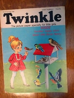 Twinkle Comic No.14 27Th April 1968 Rare Early Edition