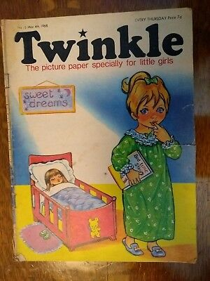 Twinkle Comic No.15 4Th May 1968 Rare Early Edition