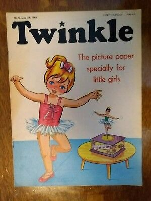 Twinkle Comic No.16 11Th May 1968 Rare Early Edition