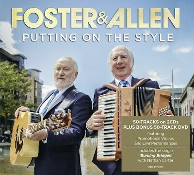 Putting On the Style - Foster and Allen (Album with DVD) [CD]