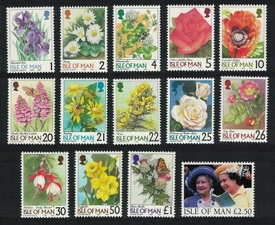 Isle of Man Butterflies Roses Fuchsia Daffodil Iris Orchid Daisy Flowers Queens
