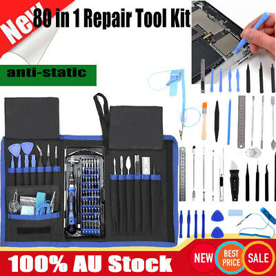 80 in 1 Precision Screwdriver Set Repair Opening Tool 56bits Magnetic Driver Kit