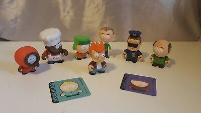 South Park 2011 Kidrobot collectible figures Futurama final figures