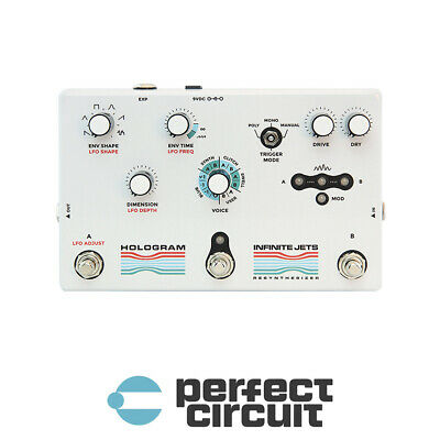 Hologram Infinite Jets Resynthesizer EFFECTS - NEW - PERFECT CIRCUIT