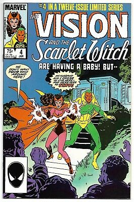 Vision and The Scarlet Witch #4 (Marvel, 1986) – 1st app Glamor & Illusion - NM