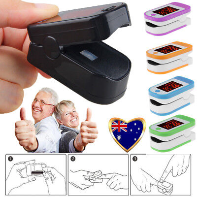 2018 Finger Tip Pulse Oximeter SpO2 Heart Rate monitor blood oxygen Sensor Meter