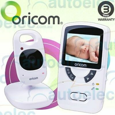 "Oricom Secure Sc703 2.4Ghz Digital Wireless Video Baby Monitor 2.4"" Screen"