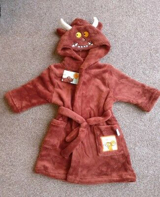 Brand New Boys The Gruffalo Dressing Gown 18-24 Months Debenhams