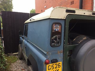Land Rover Defender 90 200tdi Project Spares Or Repair V5 Log Book Chassis