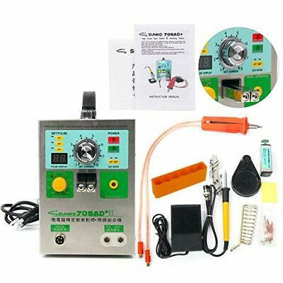 709AD+ 18650 Battery Welding Soldering Machine Pulse Spot Welder + Welding Pen