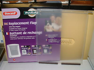 Staywell / Petsafe Large Spare Door For 2 Way Dog Flaps 700L