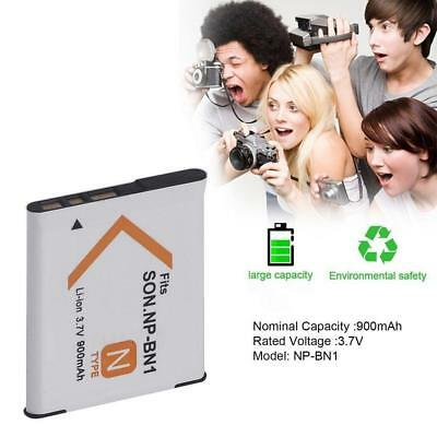 NP-BN1 Rechargeable 3.7V 900mAh Li-ion Camera Battery For Sony Digital Camcorder