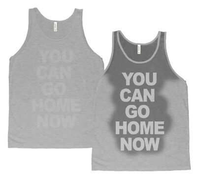 92a0fe41 You can go home now Tank top Gym Workout Fitness sweat activated Men's Tank  top