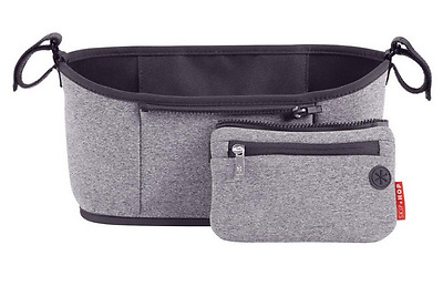 Brand new in pack Skip Hop grab and go stroller organiser in heather grey