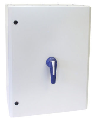 TELERGON 400A 3P+N ON-OFF SWITCH FUSE IN IP65 METAL ENCLOSURE INCLUDING FUSESSwi