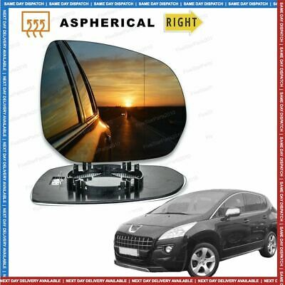 Right Driver Side Heated Mirror Glass for Nissan Terrano 1993-2006 0143RSH