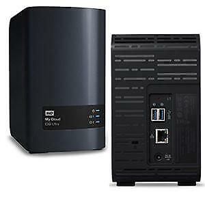 WDBVBZ0000NCH-NESN WD Diskless My Cloud EX2 Ultra Network Attached Storage - NAS