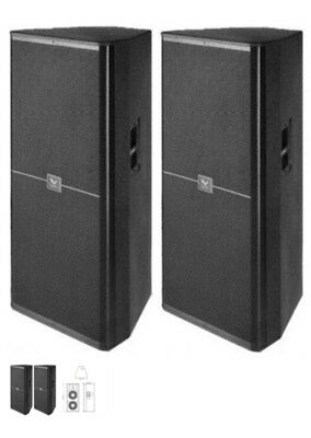 Pair  Passive PA Speakers. 2x15 and horn  1000 watts