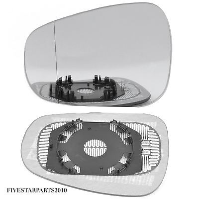 plate Left blue Wide Angle Wing mirror glass for Alfa Romeo Mito 08-18 heated