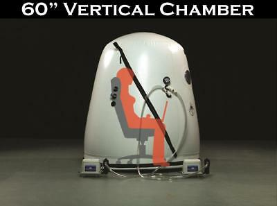 Reduced 60 inch Wheel Chair Vertical Hyperbaric Chamber Military Price