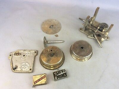 Vintage GGR Clock Parts Sold As Seen Available Worldwide