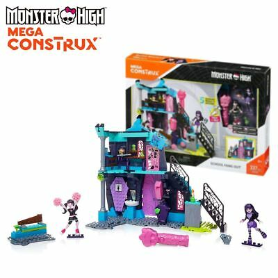 New Monster High School Fang Out Mega Construx Building Playset DPK34 Official