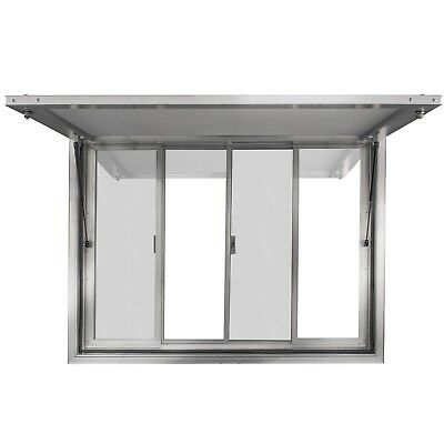 "36 x 36"" Concession Stand Trailer Serving Window Awning Food Truck Service Door"