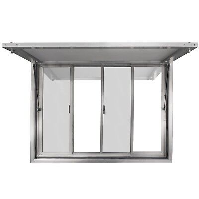 "New Concession Stand Trailer Serving Window w/ Awning 36"" X 36"" Food Trucks"