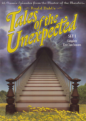Tales of the Unexpected - Set 1 (DVD, 2004, 4-Disc Set) (dv2587)