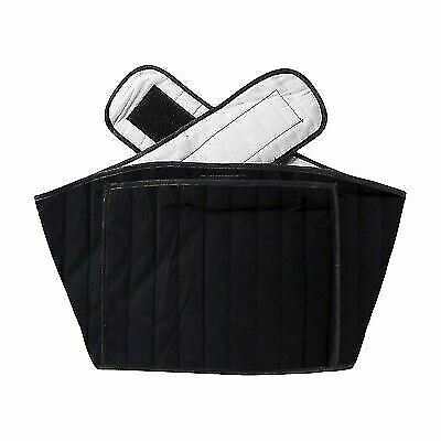 Hotties Black Quilted Back Wrap Microwave Warmer Heat Pad Pain & Stress Relief