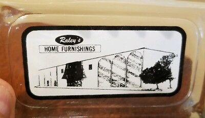 RALEY'S  HOME  FURNISHINGS  Vintage Glass Ashtray  6 Ports  RETAIL STORES - MD