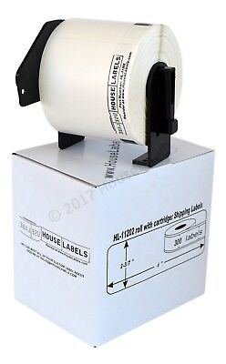 LOT 1-20 Rolls DK 1202 Brother Compatible REMOVABLE Labels + PERMANENT Cartridge