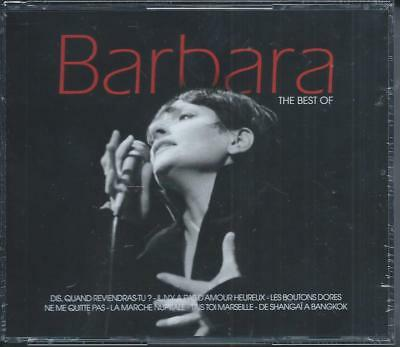 Barbara The Best Of Coffret 3 CD 60 Titres Neuf sous cellophane