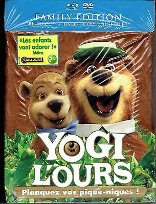 Yogi l'ours  Combo Blu-ray + DVD + Copie digitale Neuf sous cellophane