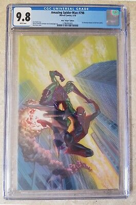 Amazing Spider-Man #798 CGC 9.8 NM/MT ALEX ROSS VARIANT 1:100 1st App RED GOBLIN